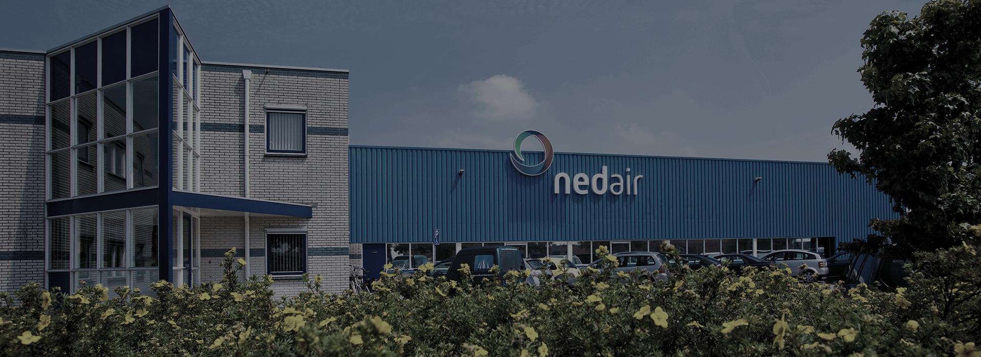 Banner Ned Air bedrijfspand