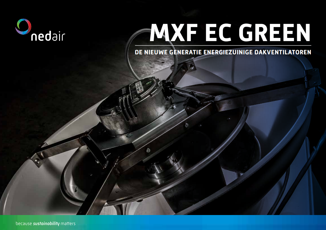 Brochure Ned Air MXF EC Green dakventilatoren