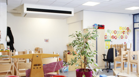 Ned Air Schoolventilatie EduComfort 950 in Klaslokaal