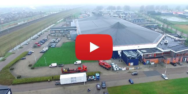 Ned Air Luchtbehandeling Ijsbaan Dronten Video