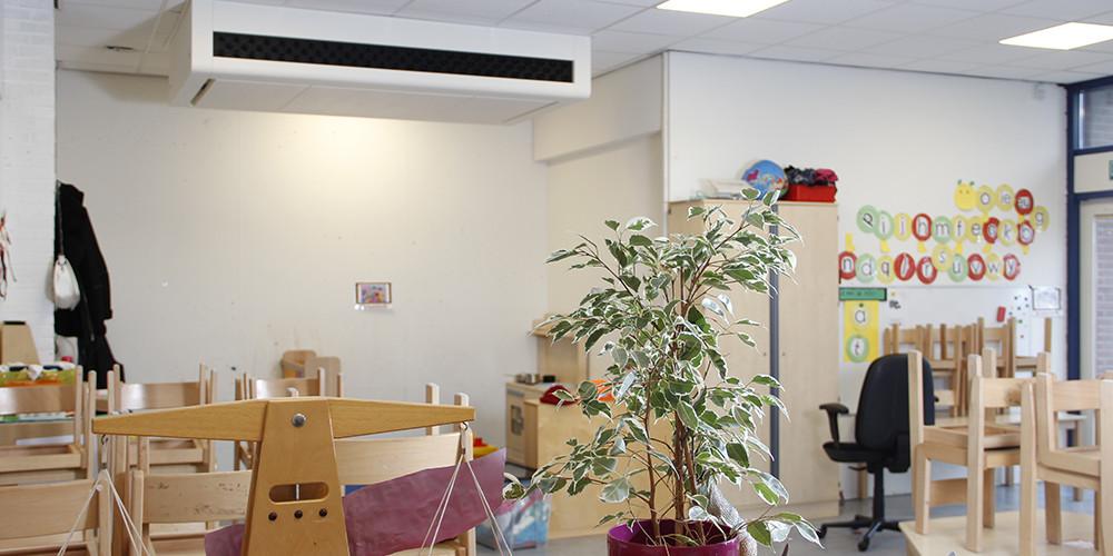 Klaslokaal Ned Air Schoolventilatie Nieuw Programma Van Eisen Frisse Scholen