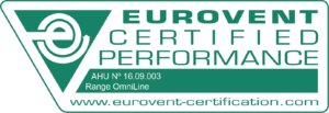 Label Ned Air OmniLine Eurovent Certificaat