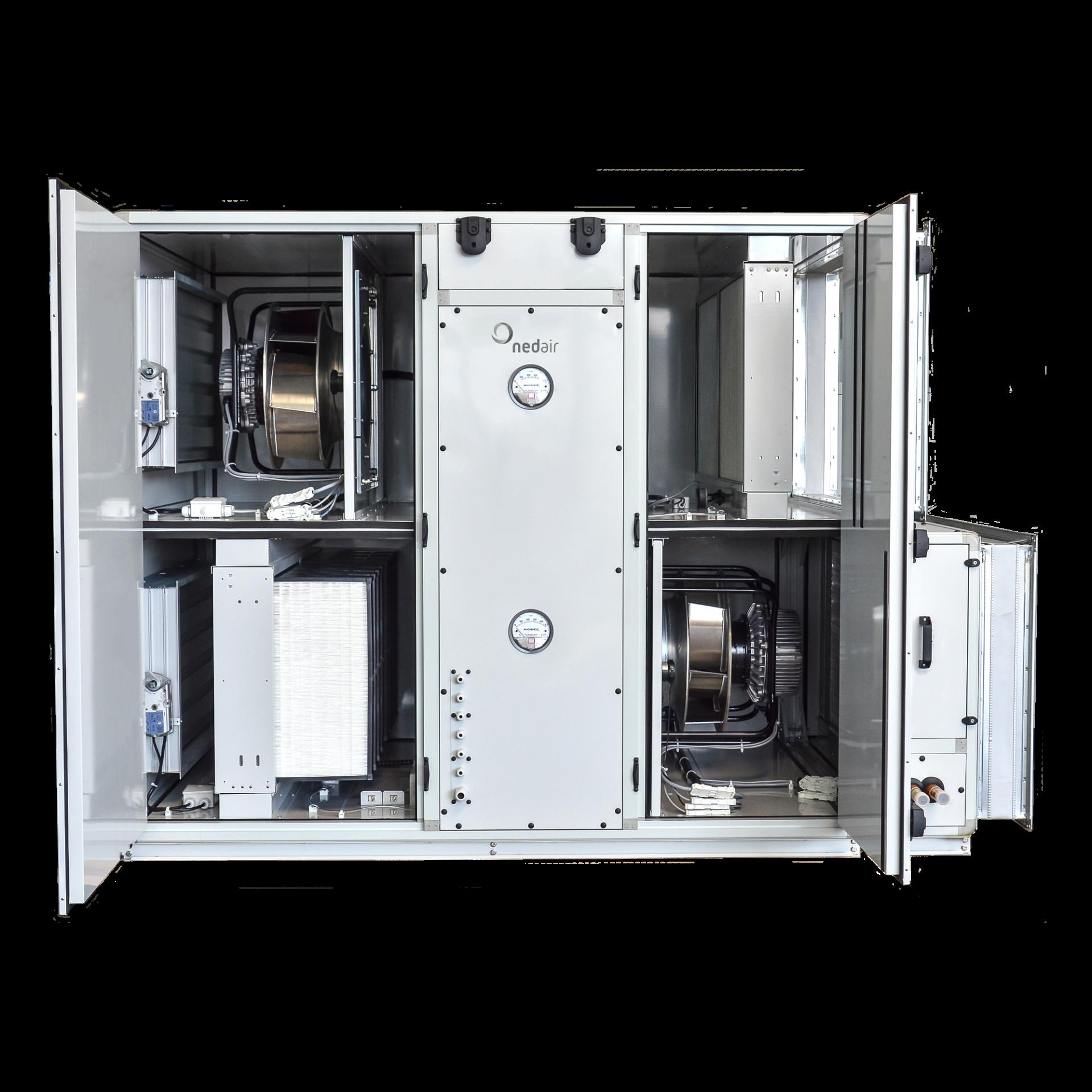 Open Ned Air OmniLine luchtbehandelingskast met Eurovent Certificaat
