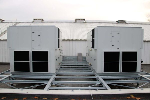 Zeepfabriek - Ned Air NKD luchtbehandelingskasten vooraanzicht