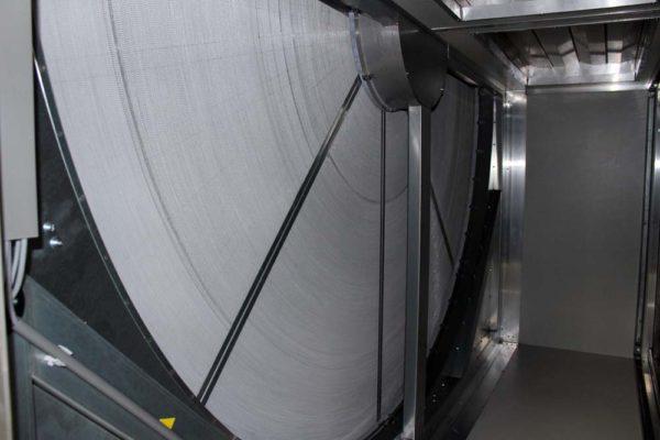 Zeepfabriek - Ned Air vocht terugwinnend warmtewiel