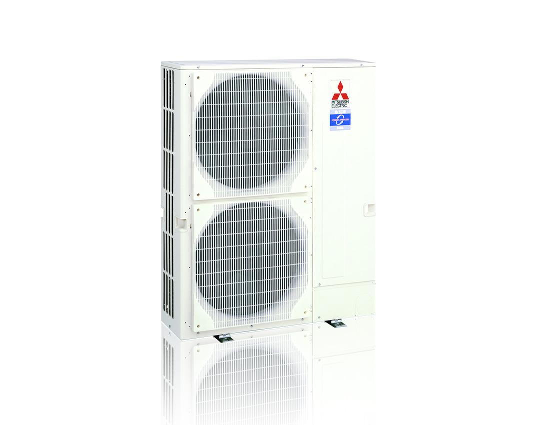 Warmtepomp voor luchtbehandelingskast