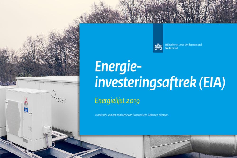 EIA 2019 veranderingen Energielijst