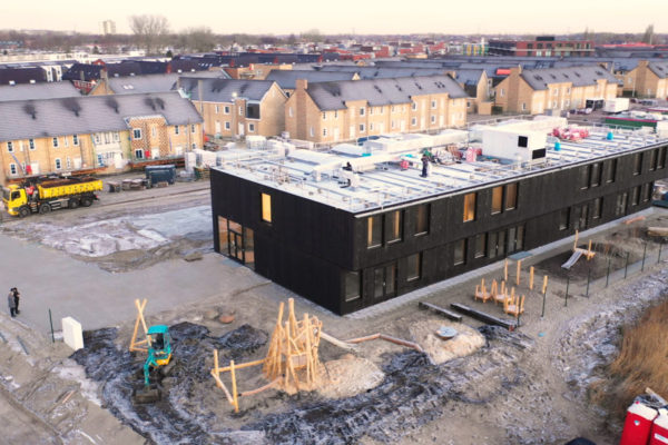 RotorLine schoolventilatie basisschool Klein Amsterdam
