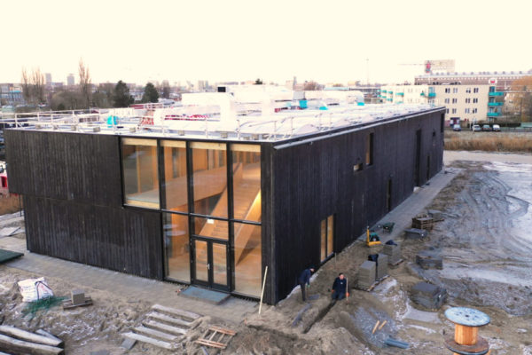 Klein Amsterdam basisschool schoolventilatie